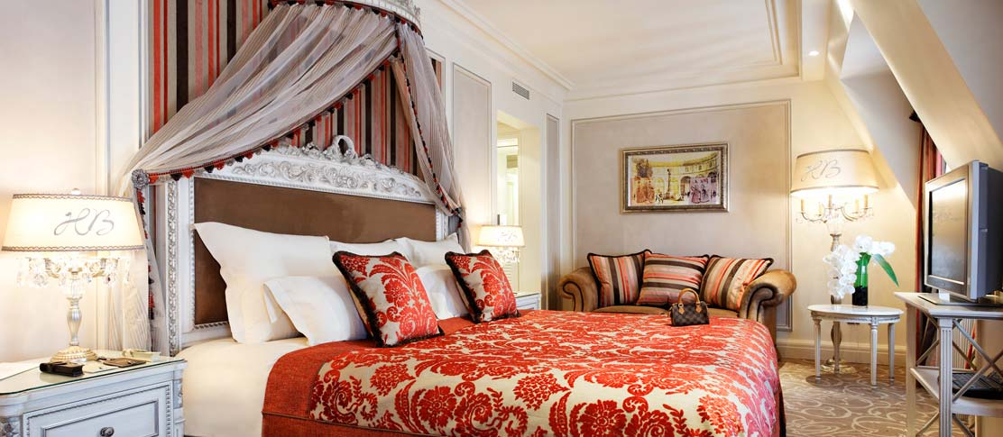 Luxurious and prestigious hotels