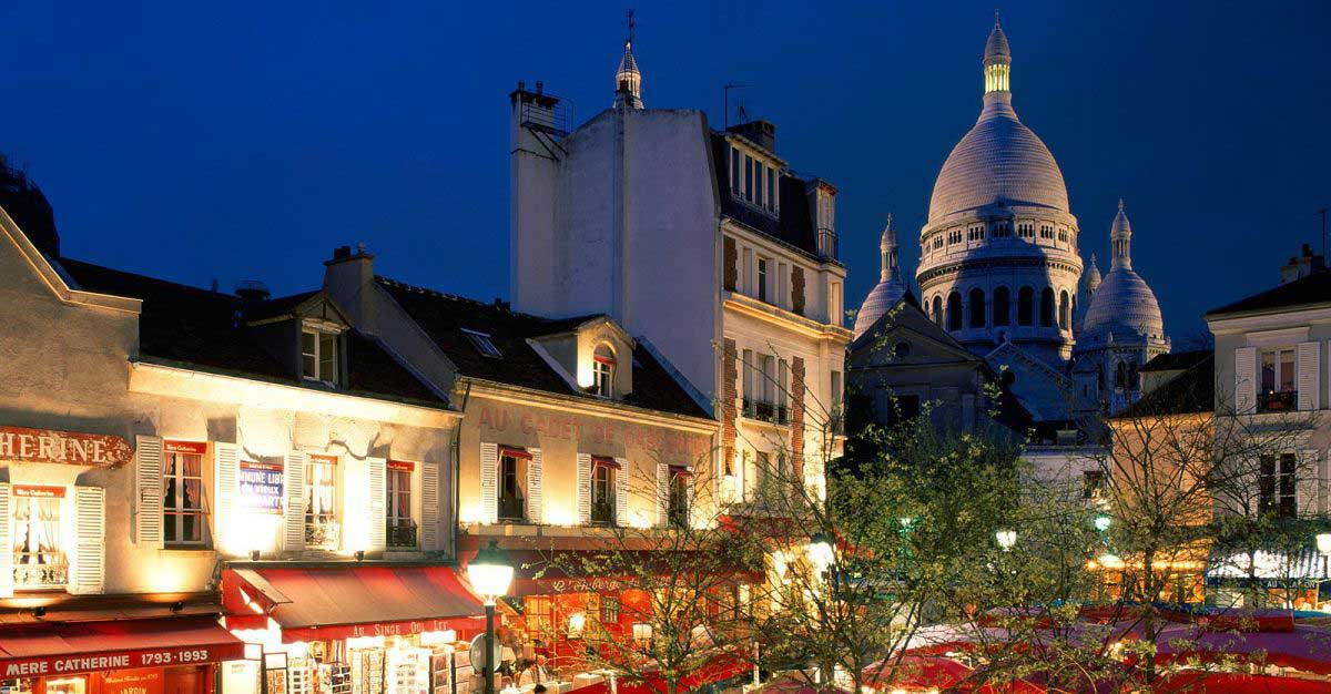 Paris Hotels Montmartre