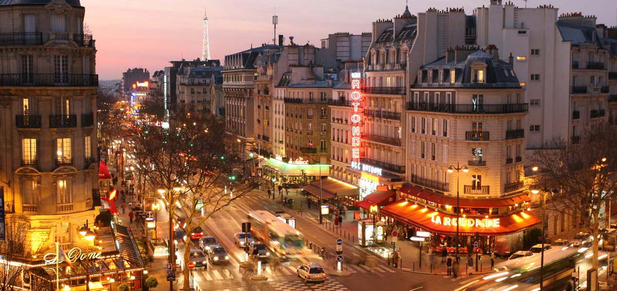 Paris hotels montparnasse for Hotels quartier montparnasse