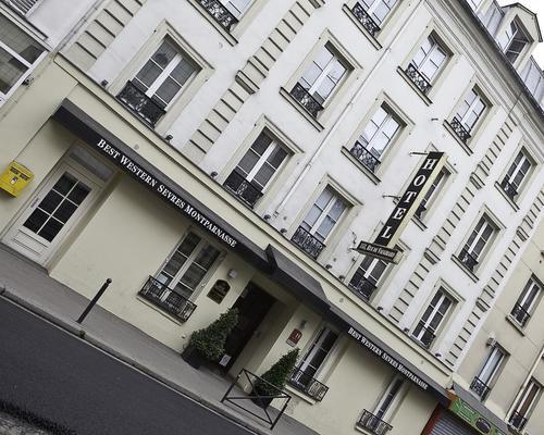 Best western s vres montparnasse paris 3 star 153 rue de for Ideal hotel montparnasse