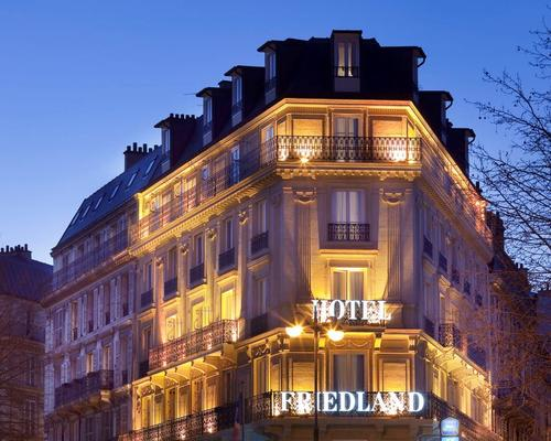 Champs elys es friedland paris 4 star 75008 for Hotel paris x