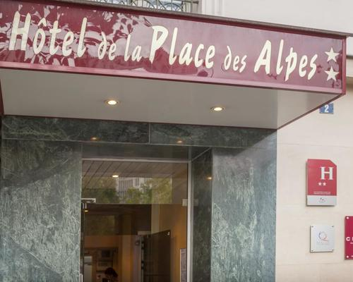H U00f4tel De La Place Des Alpes Paris 2  U00e9toiles 75013