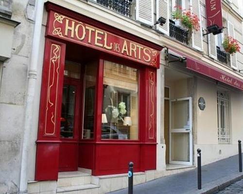 H Tel Des Arts Paris 3 Stern 5 Rue Tholoze 75018