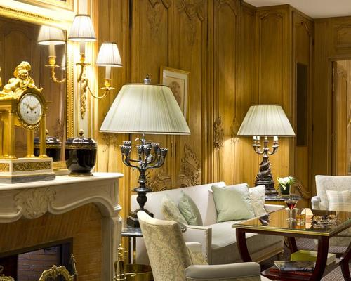 h tel san r gis paris 5 stella 12 rue jean goujon 75008. Black Bedroom Furniture Sets. Home Design Ideas