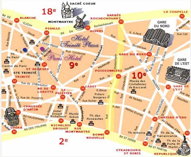 Hotel La Cigale Paris