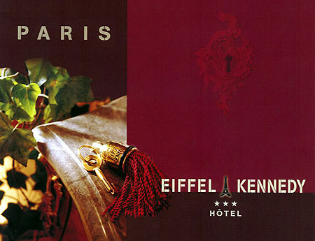 Hotel Eiffel Kennedy Paris 3* star near 16eme arrondissement