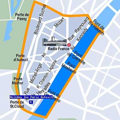 Hotel Paris Auteuil
