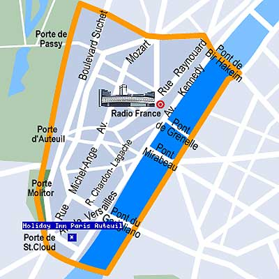 paris plan arrondissement. Hotel Holiday Inn Paris