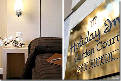 Hotel Holiday Inn Paris Auteuil Paris 3* star near 16eme arrondissement