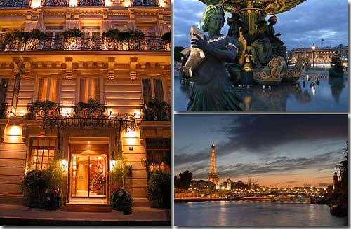 Hotel Chambiges Elysees Paris 4* star near the Champs Elysees