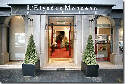 Hotel en par s best western hotel elysees paris monceau for Ideal hotel paris
