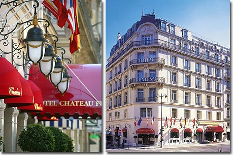 Hotel Chateau Frontenac Paris 4* star near the Champs Elysees