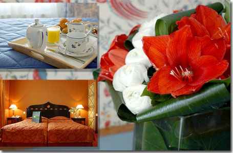 Hotel Elysees Mermoz Paris 3* star near the Champs Elysees and close to the Arch of Triumph