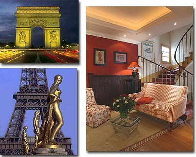 Hotel Etoile Trocadero Paris 3* star near the Champs Elysees and close to the Arch of Triumph