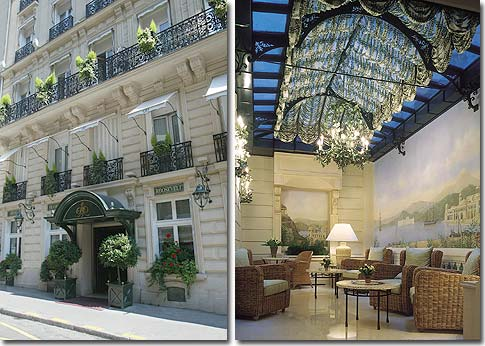 Hotel In Paris Hotel Franklin Roosevelt Paris 4 Star