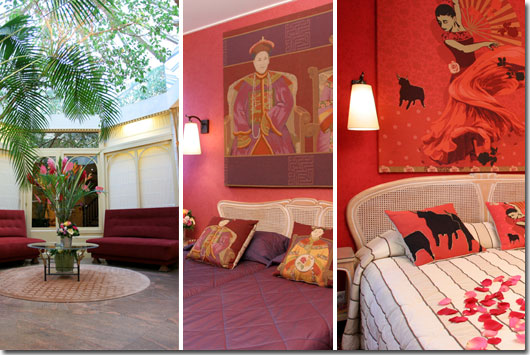 Hotel Neuilly Park Paris 3* star near the Arch of Triumph and the exhibition centres (Palais des Congrès)