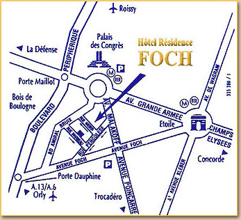 Hotel Residence Foch Paris Near The Champs Elysees And