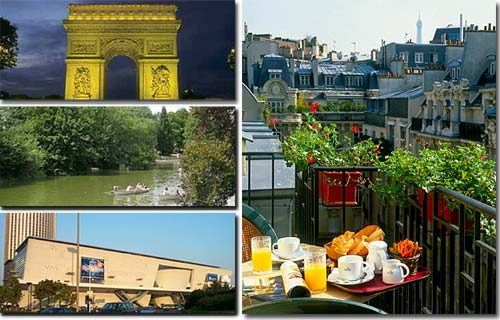 Hotel residence Foch Paris 3* star near the Champs Elysees and close to the Arch of Triumph