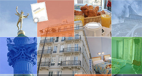 Hotel Helvetia Paris 2* star near the Gare de Lyon station