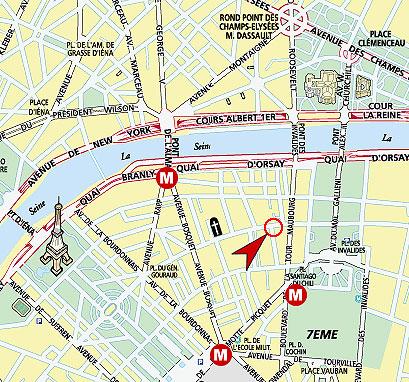 Hotel La Tour Maubourg Paris