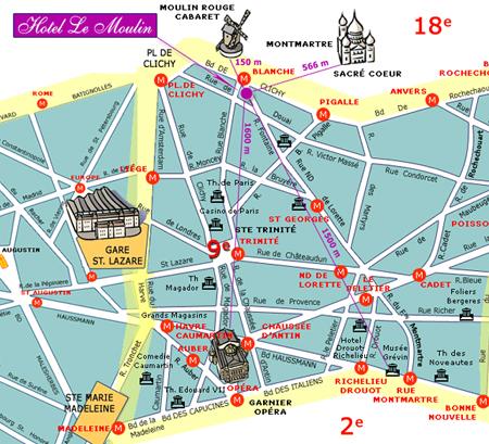 Hotel Nation Montmartre Paris  Paris