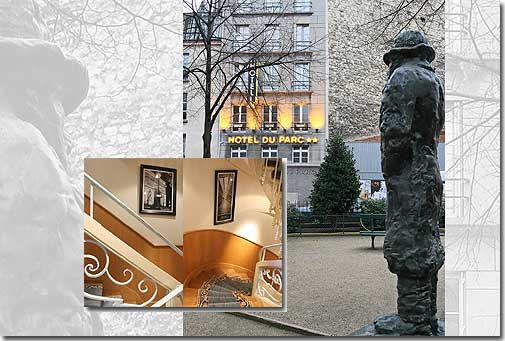 Hotel du Parc Paris 2* star near the Montparnasse District, Left Bank, and close to the Saint-Germain des prés area