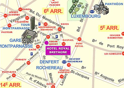 Hotel Elysee Montparnasse Paris Proche Du Quartier
