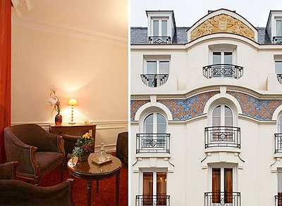 Hotel Elysee Montparne Paris 3 Star Near The District A Few Steps From