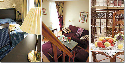 Hotel Unic Paris 3* star near the Montparnasse District, Left Bank, and close to the Saint-Germain des prés area
