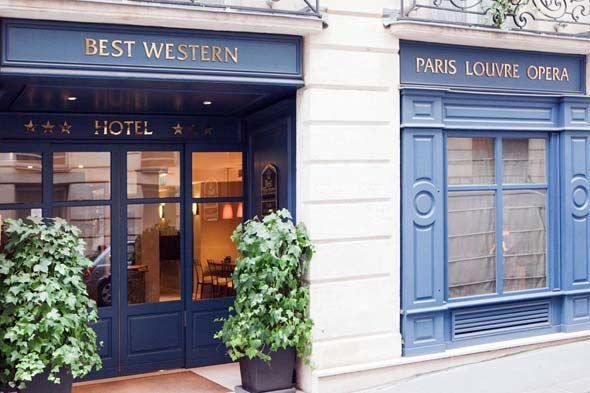 Hotel in paris best western hotel paris louvre op ra for Ideal hotel paris