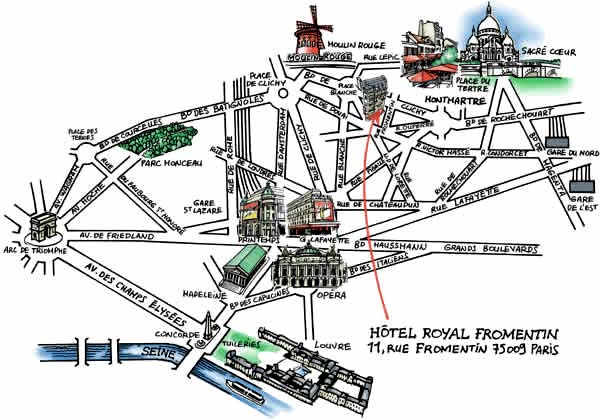 Hotel Royal Fromentin Paris Proche De L U0026 39 Opera Garnier