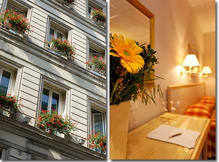 Hotel Royal Opera Paris 2* star near the Garnier Opera