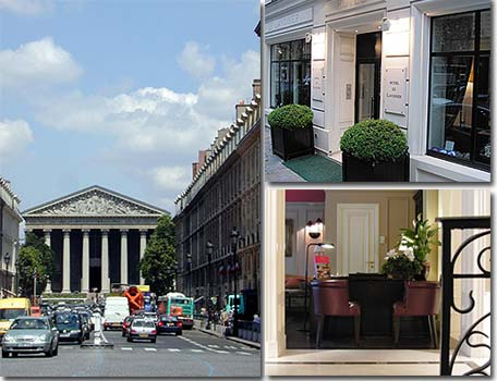Hotel le Lavoisier Paris 4* star near the Garnier Opera
