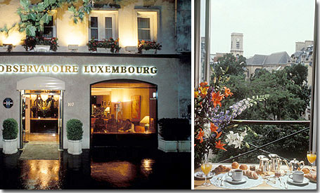 Hotel in paris hotel obervatoire luxembourg paris 3 star hotel near the latin quarter for Hotels near luxembourg gardens