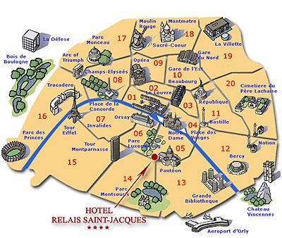 Hotel Relais Saint Jacques Paris