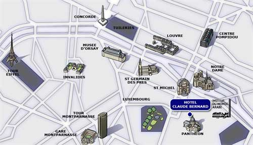Hotel Claude Bernard Saint Germain Paris Proche Du