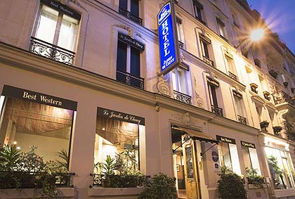 The 3 star best western hotel jardin de cluny paris for Best western le jardin de cluny