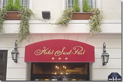 The 3 Star Hotel Saint Paul Rive Gauche Paris Visit Our Hotel Tour Description And Pictures