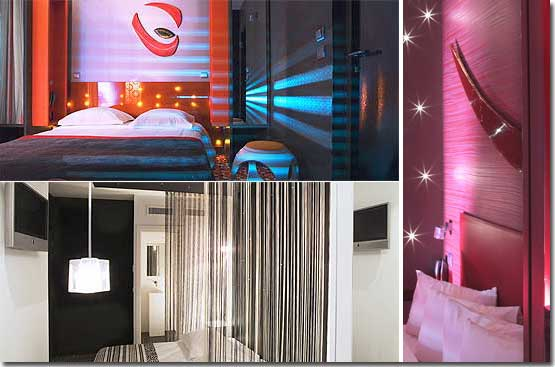 The Five Hotel 3* Sterne Paris in der Nähe des Viertels Latin (Quartier Latin) und boulevard Saint Michel.