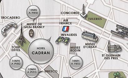 Hotel du cadran paris proche de la tour eiffel acc dez - Metro gare de lyon porte de versailles ...