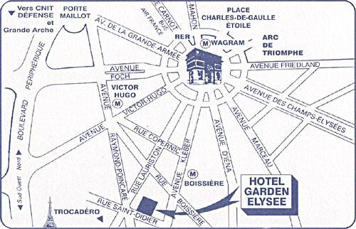 Hotel Garden Elysee Paris Proche Du Trocadero Et De La