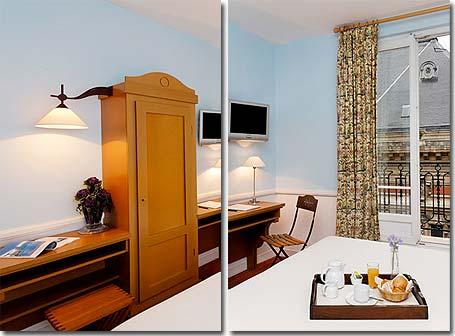hotel la manufacture paris 3 toiles visitez notre h tel pr sentation descriptions et photos. Black Bedroom Furniture Sets. Home Design Ideas